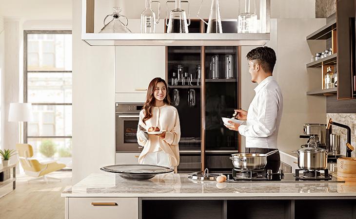 欧派开放式厨房,注重细节设计