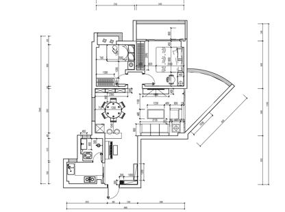 黄埔泰景小区66㎡三室两厅