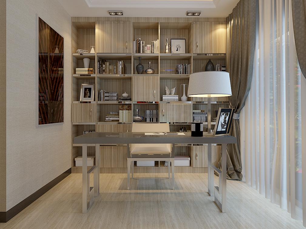 现代风格书房家具