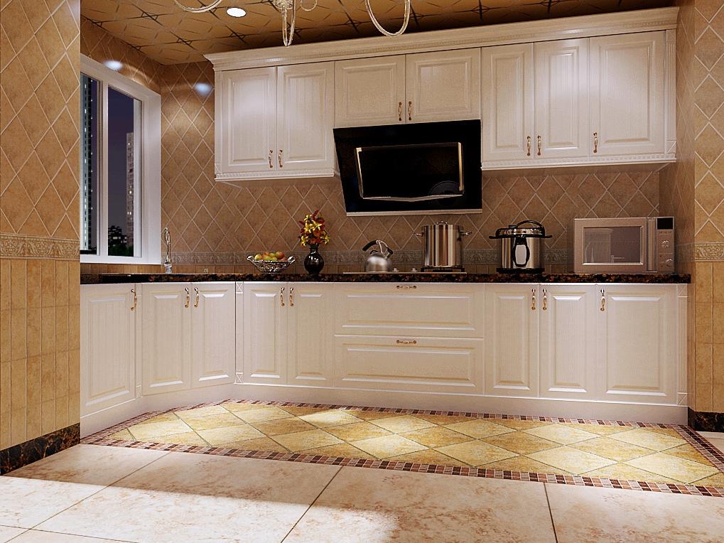 新中式风格整体厨房