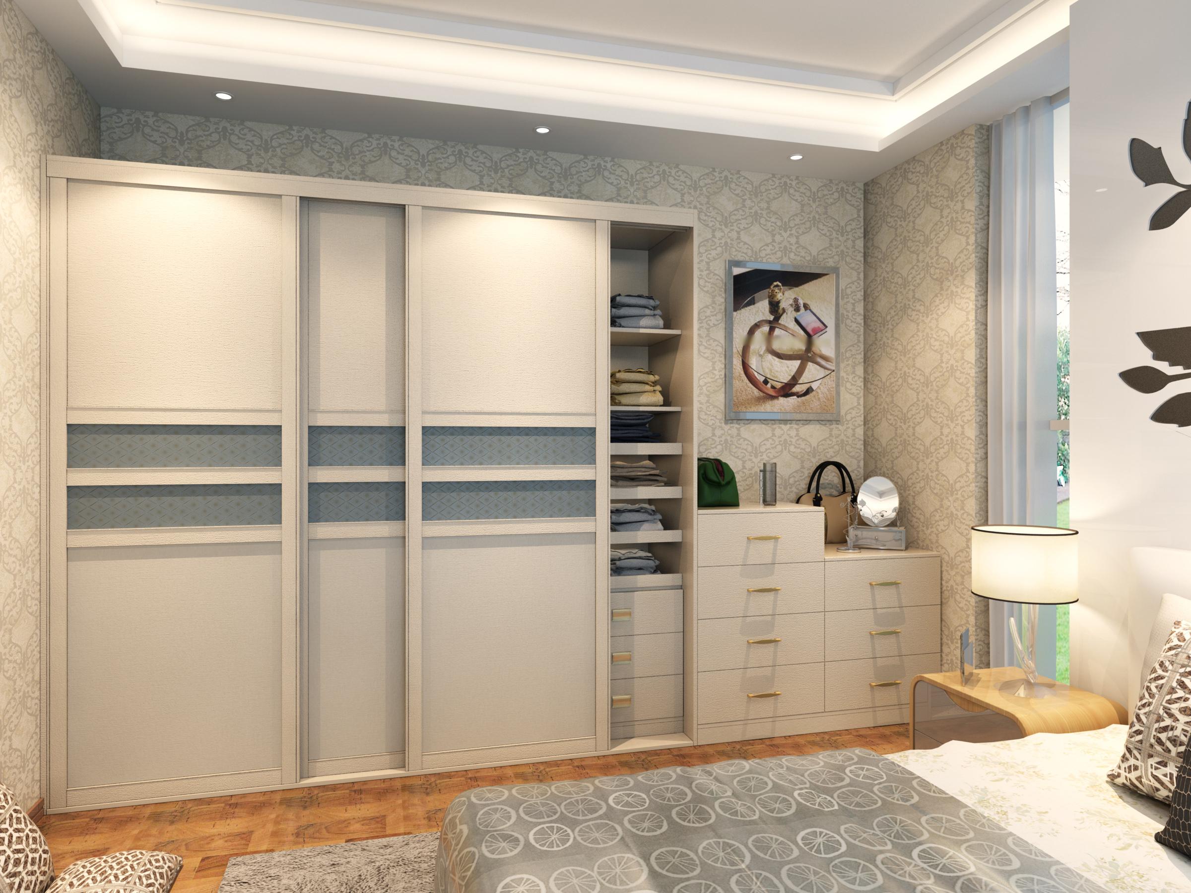 现代风格整体衣柜