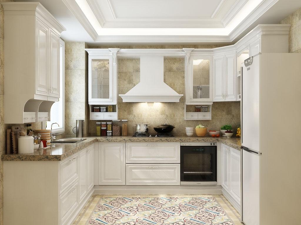 欧式风格整体厨房