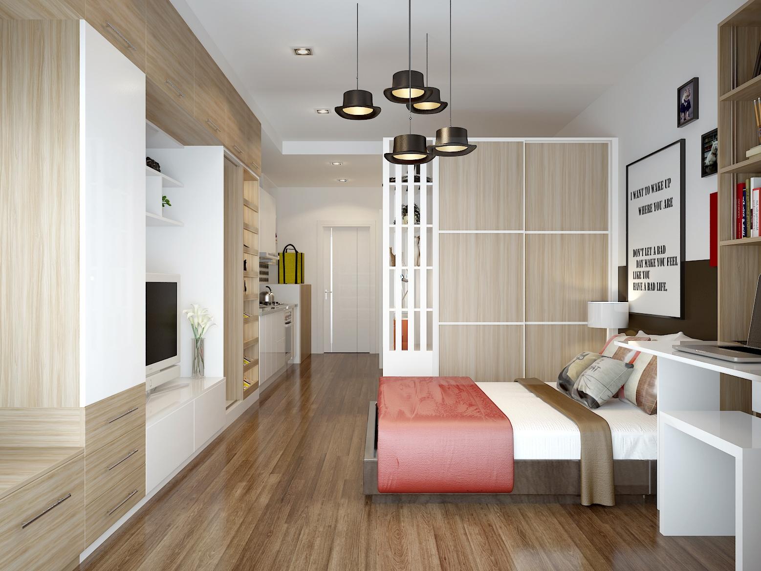 现代时尚单身公寓