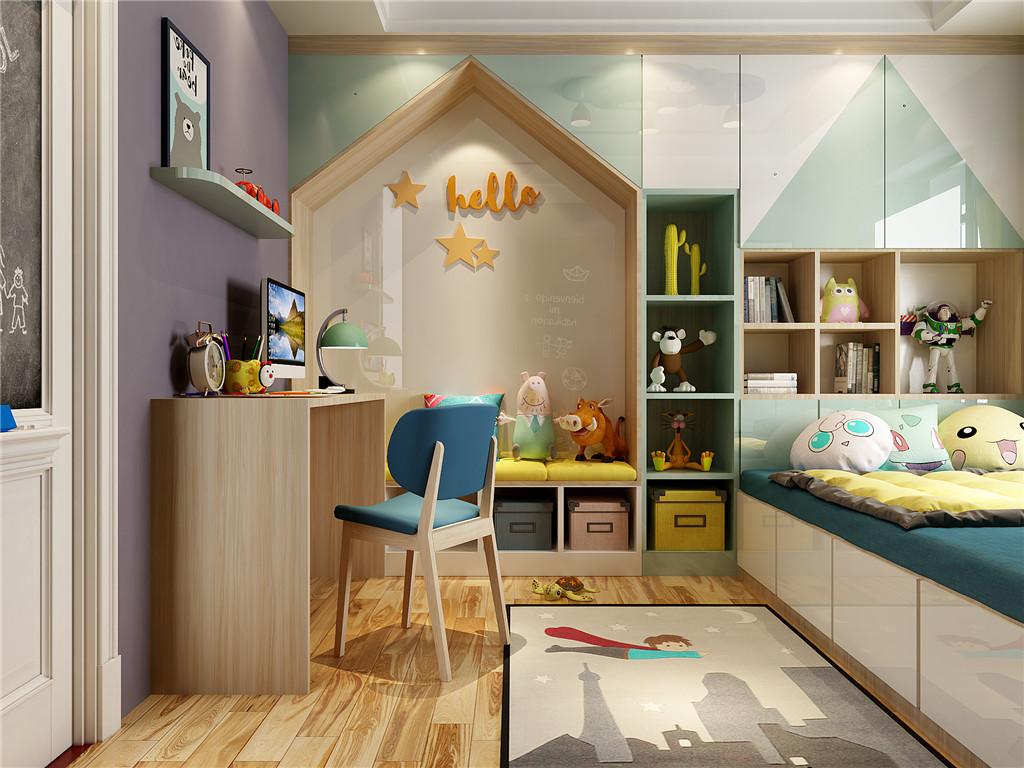 年轻北欧风格三房两厅