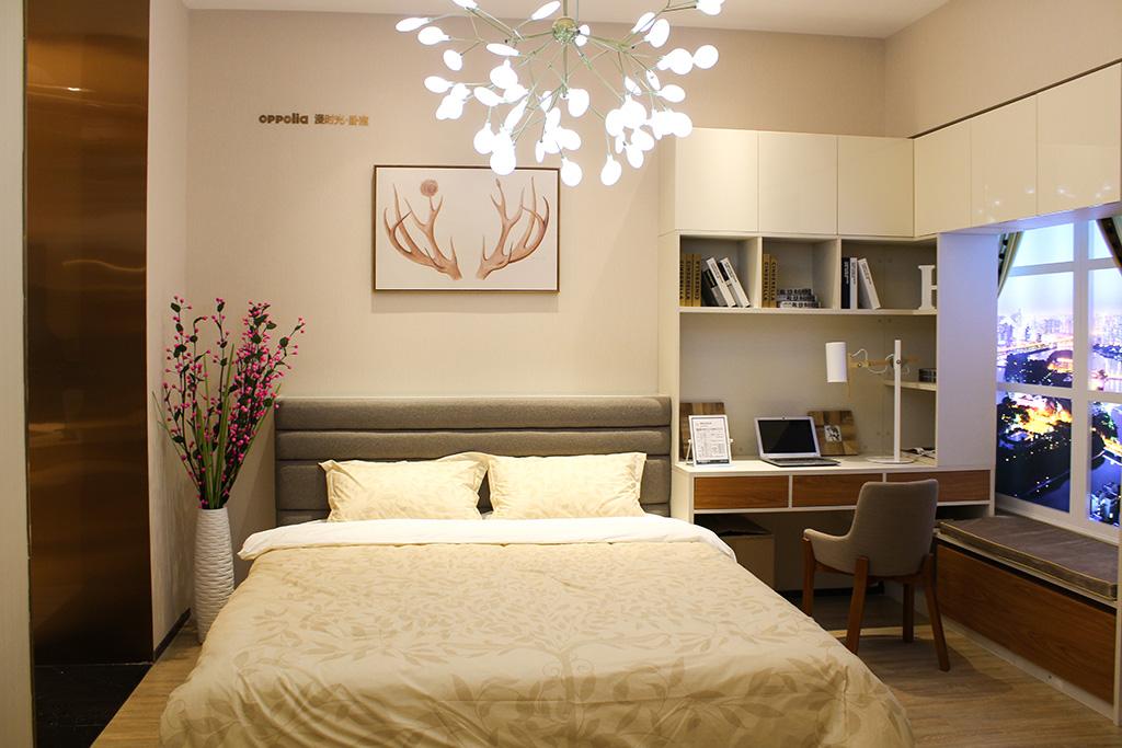 漫时光系列卧室装修效果图