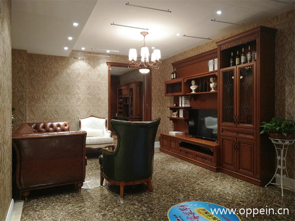 150平美式风格全屋家具效果图