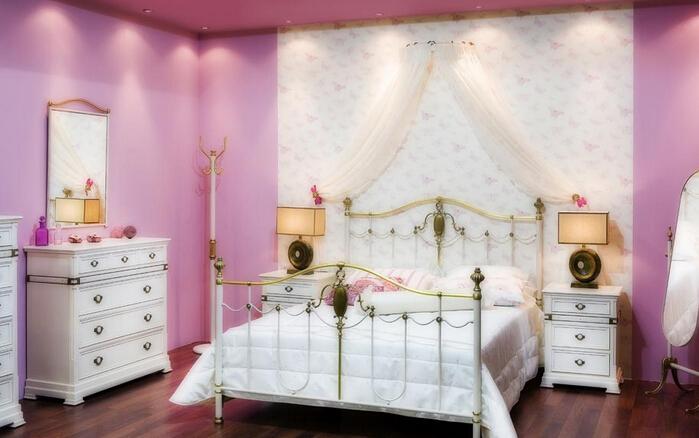 床头柜效果图