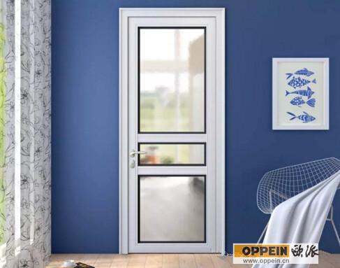 最新白色格子玻璃门精选图集