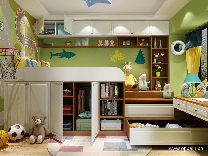 儿童房布置效果图