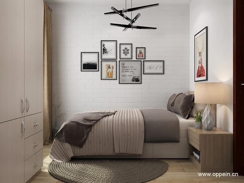 小卧室家具摆放