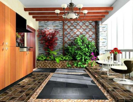 别墅入户花园设计
