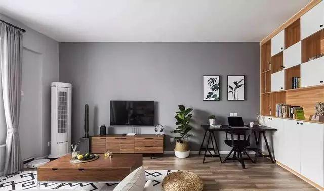 北欧风电视墙造型