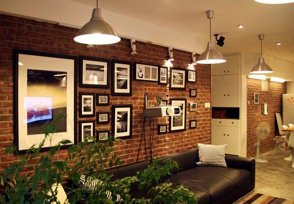 北欧风格墙颜色搭配效果图