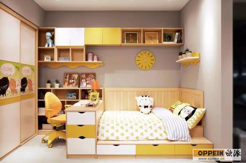 卧室床和衣柜颜色搭配
