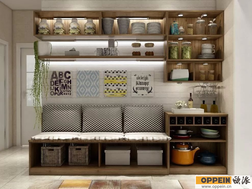 餐边柜样式效果图