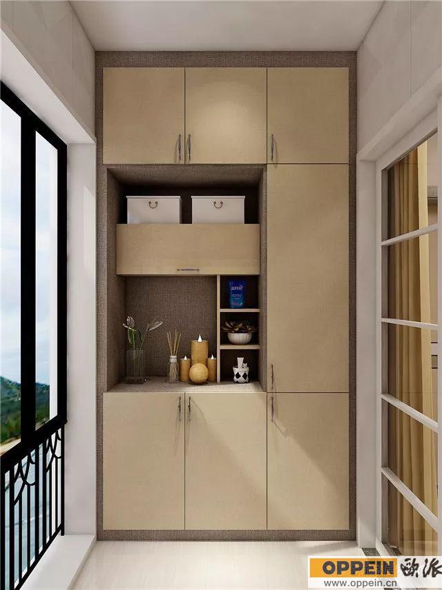 阳台柜设计效果图