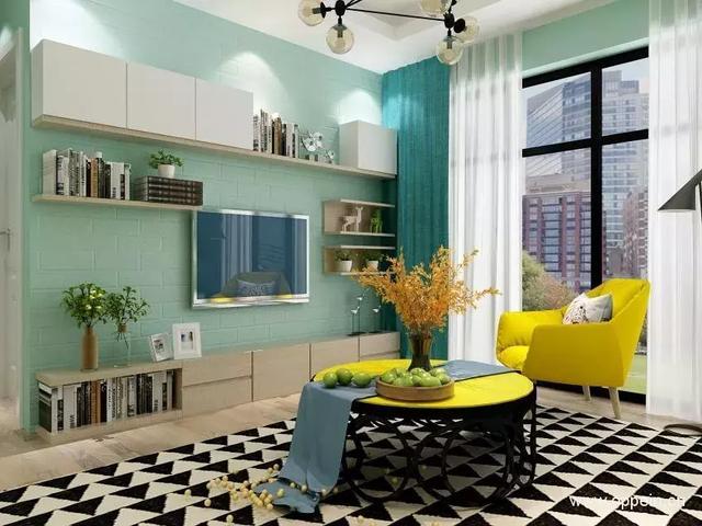客廳背景墻裝修設計